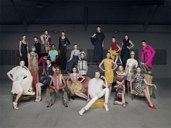 Modelos inspiradoras da trajetória do estilista, Vogue