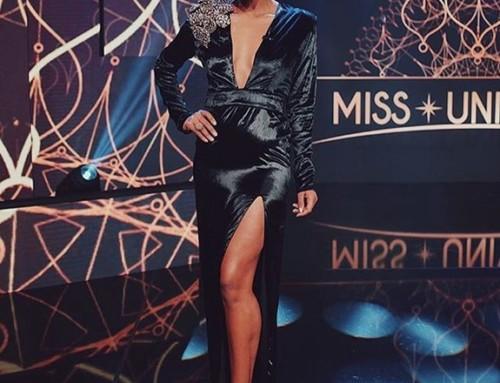 Raíssa Santana veste tecido TexPrima para Miss Universo
