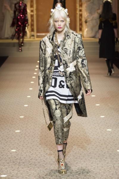 Dolce & Gabbana Jacquard TexPrima