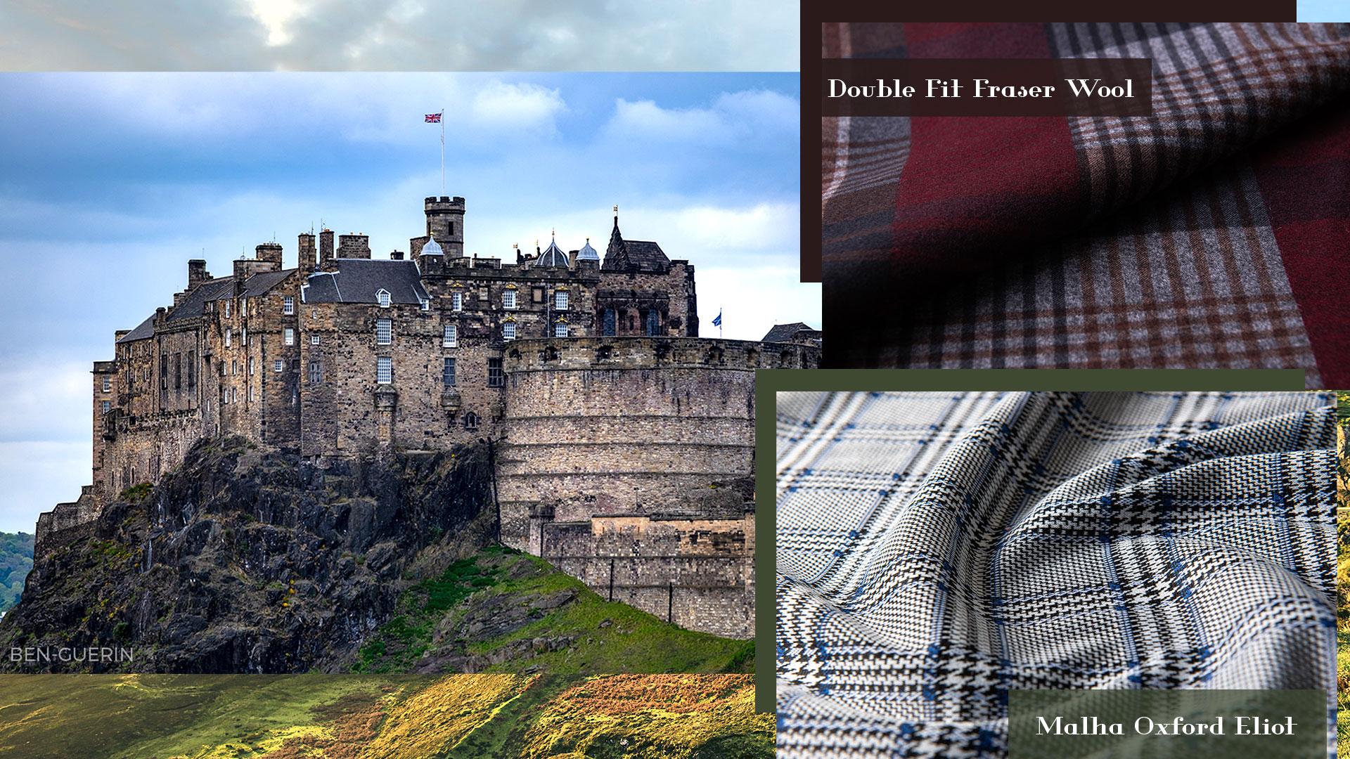 Descubra como a Escócia e seus xadrezes inspiraram nossa coleção de inverno